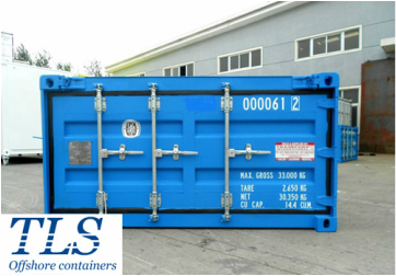 Half height container