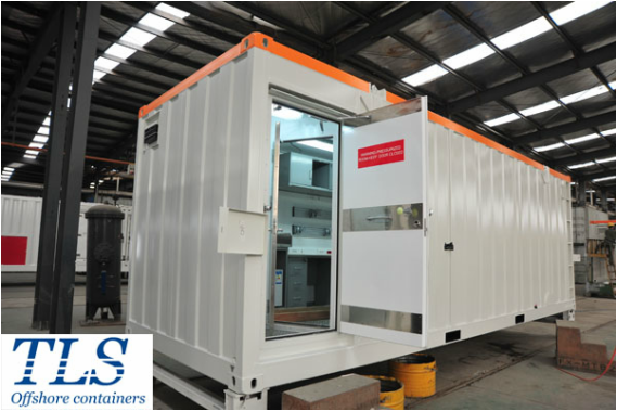 pressurized container, mud logging cabin, zone 1 container