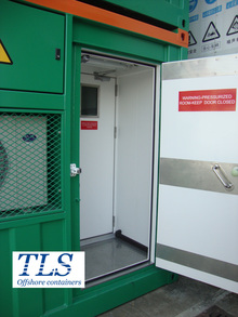 zone 2 portable laboratory cabins by TLS