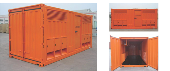 TLS engine container, transformer container