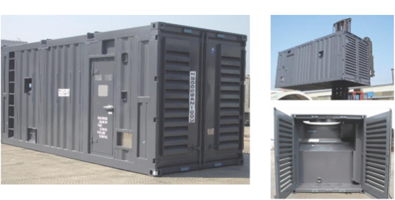 TLS transformer container, engine container
