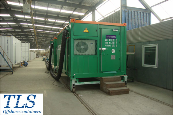 pressurised container, A60 rated container