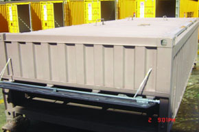 TLS, offshore container, half height container