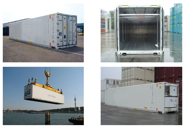 TLS reefer container, refrigerated container